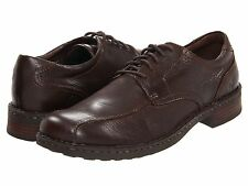 Men's Born Nathaniel Casual Lace Up Oxford Brown Mahogany Leather H04335