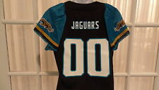 New NFL Reebok Womens Jacksonville Jaguars Sparkly Fashion Team Jersey:  S-2XL