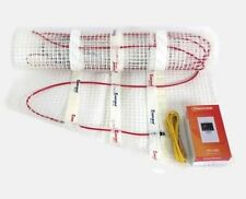220~240V Floor Electric HEATING Cable Mat Mesh Radiant Warm + Thermostat