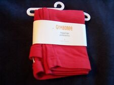 NWT Girl's Gymboree Cozy Cutie red leggings ~ 4 5 6 7