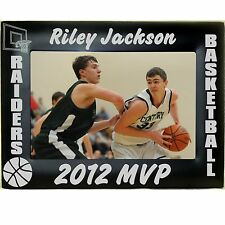 Personalized Metal Boys Girls Basketball Team Picture Photo Frames 4x6 5x7 8x10
