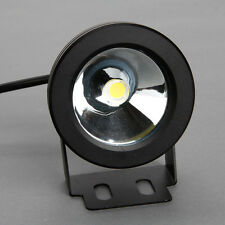 IP65 Waterproof 10W 12V  LED Underwater Light Plane Lens Pure/Warm White Light