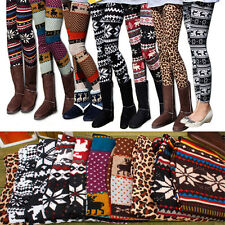 Nordic Snow Knitted Womens Leggings Tights Comfy Great Quality 11Style Worldwide