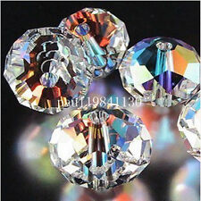 Fashing jewelry Rondelle Glass crystal #5040 8mm Beads U pick Quantity/color