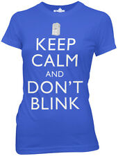 Doctor Who Keep Calm and Don't Blink Womens / Junior T-Shirt