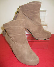 Ladies Ankle Boots with Tassel Detail Zip Fastening - F50010 - REDUCED - NUDE