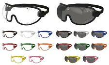 Kroops Skydiving Sports Goggles Punched Vented| Clear/Tinted | FREE UK Delivery