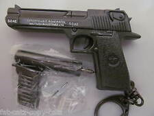 COLLECTORS METAL REPLICA SILENCER GUN PISTOL DESERT EAGLE USA ISRAEL WEAPON UK