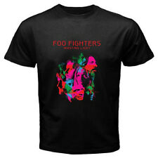 """FOO FIGHTERS """"Wasting Light"""" Dave Grohl Rock Band Mens Black T-Shirt Size S-3XL"""