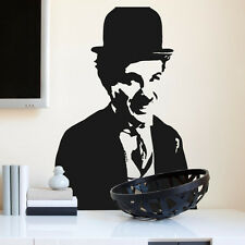 CHARLIE CHAPLIN Silent Movies Wall art Stickers Decal Vinyl famous actor