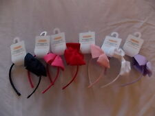 NWT Girl's Gymboree pink red white purple navy blue headband hair accessory