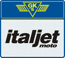 Italjet moto motorcycle vehicle graphic - Sticker - Decal