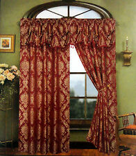 Cameron™ Jacquard Panel With Attached Valance By Regal Home Collections Inc.®