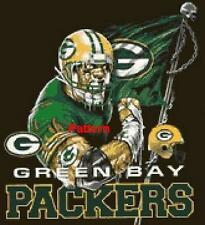 Green Bay Packers Mascots, Helmets etc. Cross Stitch Pattern. Free shipping. :)