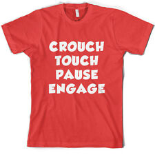 Crouch touch pause Engage - Men's T-Shirt - Rugby / Union league 10 Colours