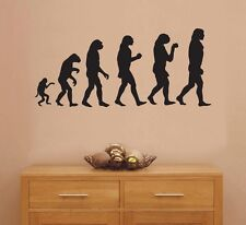 Evolution Vinyl Sticker Wall Art Decal For Furniture Vehicle Wall 4090101