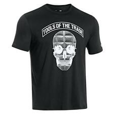 Under Armour Men's Heatgear Tools of the Trade T Shirt LOOSE Fit BLACK 1227475