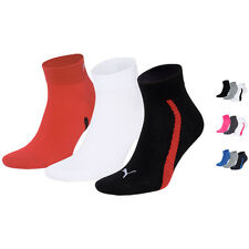 PUMA Unisex Top Winner Quarters Quarter Socken Sportsocken 3er Pack