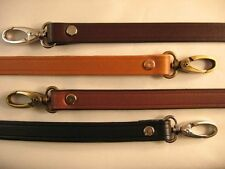 5/8 in. Leather Cross Body Shoulder/Purse/Messenger Bag Replacement Strap