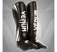 Venum Challenger Standup Shin Guards with Instep (Black)