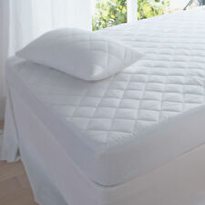 Luxury Quilted Mattress Protector Or Pillow Protectors Single Double King S.King