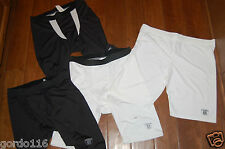 Reebok NFL Equipment Black White Compression Spandex Athletic Workout Shorts