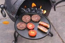 UK-Gardens Cast Iron Circular BBQ Hot Plate - Outdoor Cooking and Dining