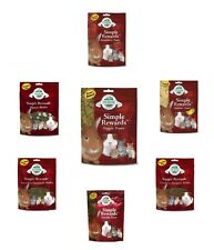 Oxbow SIMPLE REWARDS Treats - Rabbits Guinea Pigs Chinchillas CHOOSE FLAVOR