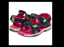 NEW NWT TIMBERLAND TODDLER MAD RIVER NAVY / PINK 4 10 kids sport sandals
