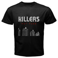 "New THE KILLERS ""Hot Fuss"" Concert Tour Rock Band Men's Black T-Shirt Size S-3XL"