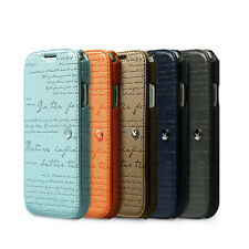 ZENUS Samsung Galaxy S4 [Lettering Diary] PU Leather Wallet Case S 4 iV i9500