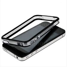 Black-Clear iPhone 4G/4S Bumper w/Chrome Buttons