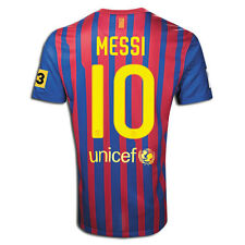 NIKE FC BARCELONA L. MESSI HOME JERSEY 2011/12 TV3 PATCH LA LIGA SPAIN.