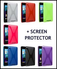 X STYLE TPU GEL SKIN CASE BACK COVER FOR GOOLE NEXUS 7 WITH SCREEN PROTECTOR