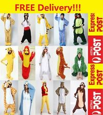Adult Unisex Fleece Animal Cosplay Costume Kigurumi Pajamas Sleepwear Onesies