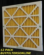 12 GF HIGH QUALITY AIR FILTERS MERV 11 MANY SIZES HERE