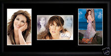 Celine Dion Framed Photograph Set 435mm x 215mm. Click image for more sets