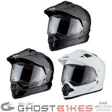 THH TX-26 TX26 #1 Plain Dual Sport Mx Enduro Motocross Adventure Crash Helmet