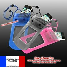 Housse Etui Pochette Sac ETANCHE WATERPROOF CASE Iphone 3g 4 4s 5 Ipod Mp3 Mp4