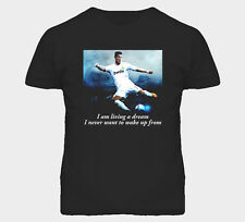 Cristiano Ronaldo Football Soccer Player Inspirational Quote Sport T Shirt
