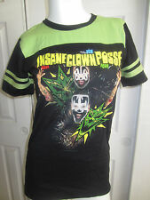 Hot Topic Insane Clown Posse Bang Pow Boom Football Girls T-Shirt
