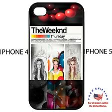 The Weeknd House Of Baloons Drake Toronto iphone 4 4s 5 hard case