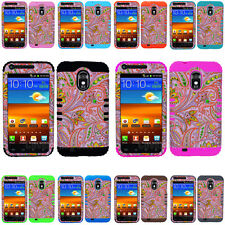 Flowers on Pink Impact Hard Cover Case for Samsung Galaxy S 2 II Epic Touch D710