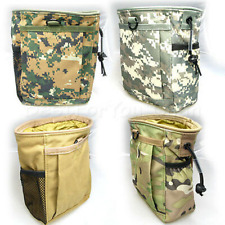 Durable Tactical Airsoft Utility Recycle Bag Multicam Tan ACU Woodland Digital