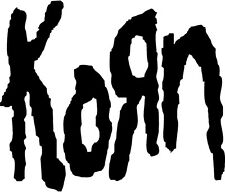 Korn Music Band Decal Sticker Free Shipping