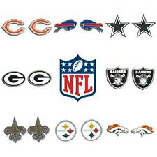 NFL OFFICIALLY LICENSED STUD EARRINGS / JEWELRY / ASSORTED NFL TEAMS