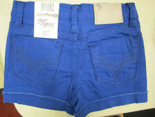 VIGOSS Shorts w/ADJUSTABLE WAIST Girls in ROYAL  BLUE Sizes 5 and 10  NEW w/TAG