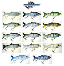 "REACTION STRIKE REVOLUTION SHAD SWIMBAIT 7"" (18 CM) SLOW SINKING various colors"