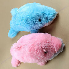 Small Cute Plush Fluffy Romantic Dolphin Doll Toy Pillow Cushions Dolls Gift 2 C