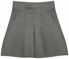 GIRLS SCHOOLWEAR GIRL SCHOOL UNIFORM FRONT BOX PLEAT SCHOOL SKIRT PRIMARY